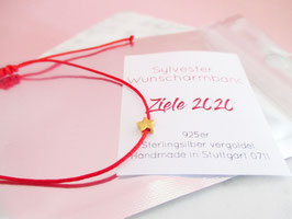 Silvester 2020 Armband Stern 925er Sterlingsilber