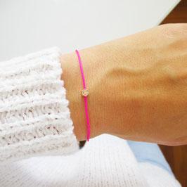 Rosen Armband/ Fußkettchen | Sterlingsilber Rosévergoldet
