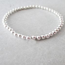 Pearls Stretch Armband ohne Anhänger  | Sterlingsilber
