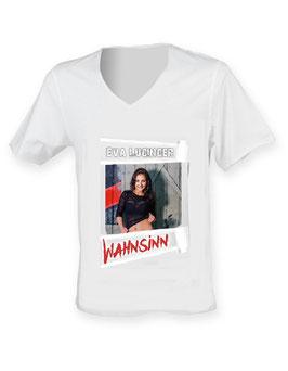 "T-Shirt - Eva Luginger mit Cover ""WAHNSINN"""