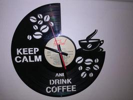 Disque vinyle café