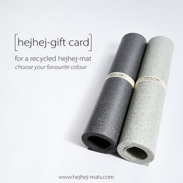 gift card for a hejhej-mat