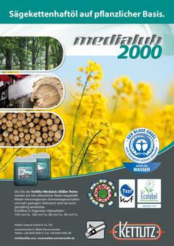 Medialub 2000 - Sägekettenhaftöl auf pflanzlicher Basis