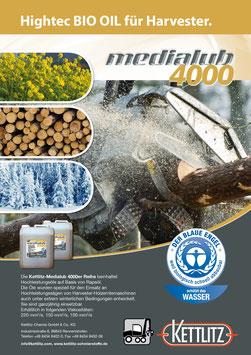 Medialub 4000 - Hightech Bio Öl für Harvester