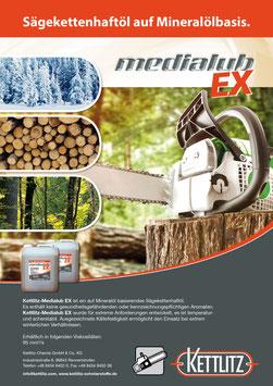 Medialub EX Kettenhaftöl mineralisch Motorsäge, Kettensäge, Sägespaltautomat