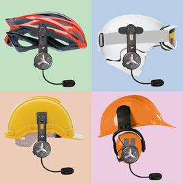 Buddy Chat Bluetooth Helm Headset mit Freisprechanlage inkl. kostenlosem USB 4-fach Ladestecker