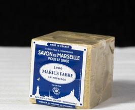 Marius Fabre savon de Marseille à l`huile d`olive - Olivenöl Würfelseife, 200g