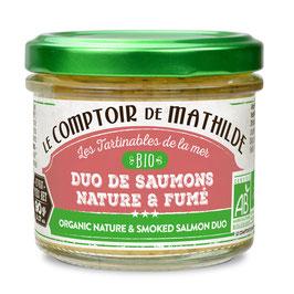Duo de Saumons nature & fumé ()