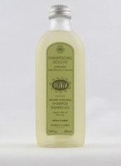 Marius Fabre shampooing douche extra doux huile d'olive bio et aloé vera - Bio Shampoo und Duschgel mit Olivenöl und Aloé Vera,  230 ml