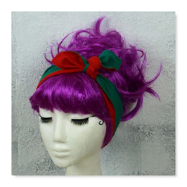 Haarband LISA Rot Grün