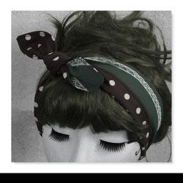 Haarband MIRI Grau Braun