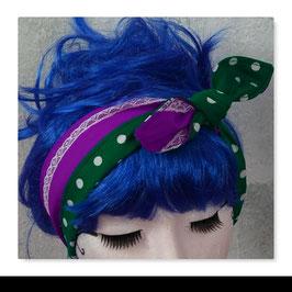 Haarband MIRI Lila Grün
