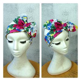 Haarband mit Draht SUMMER FLOWERS