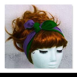 Haarband LISA Lila Grün