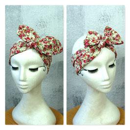 Haarband mit Draht VINTAGE ROSES