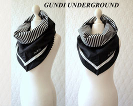 GUNDI UNDERGROUND  Kragen Tuch Schal Loop Dreieckstuch