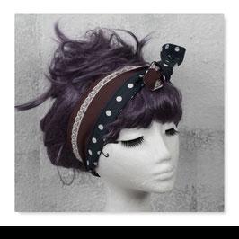 Haarband MIRI Braun Grau