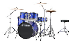 RYD20 RYDEEN ACOUSTIC DRUM KIT FUSION PACKAGE - Fine Blue available Now