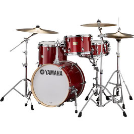 Stage Custom Bop Kit with Crosstown Hardware Pack - Cranberry Red