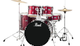 Drum Kit Pearl Roadshow - Fusion Plus RS525SCC Wine Red C91