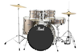 ROADSHOW DRUMSET PEARL RS505CC Bronze Metallic Ready for PickUp