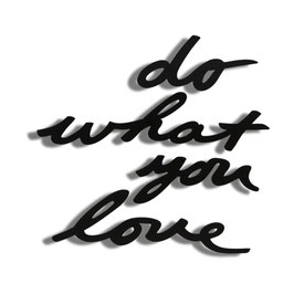 DO WHAT YOU LOVE WALL DECOR UMBRA