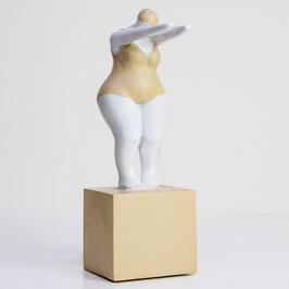 Donna Costume Da Bagno Resina Beige/Bianco J-LINE