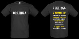 BRETINGA One Night 2016 T-Shirt (Männer)