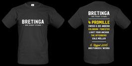 BRETINGA One Night 2016 T-Shirt (Männer)