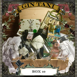 Box 10 - ULTIMATE Gift Box with GIN TAXI Voucher for 4