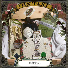 Box 4 - Gift Box with GIN TAXI Voucher for 4