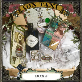 Box 5 - Gift Box with GIN TAXI Voucher for 4