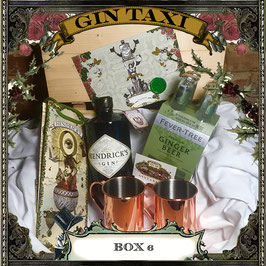 Box 6 - Gift Box with GIN TAXI Voucher for 4