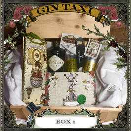 Box 1 -Gift Box with GIN TAXI Voucher for 2