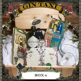 Box 3 - Gift Box with GIN TAXI Voucher for 4