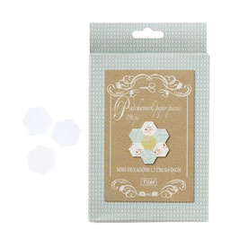 Tilda Papierstücke Hexagon mini