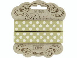 Tilda Band Dots green 3m