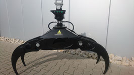 OG 140 1,40 m Reisiggreiferset 4 Fingergreifer