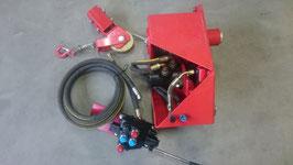 Kran-Seilwinde DWH1,4T mit Freilauf und Mechanischen Ventil