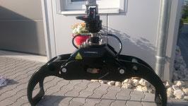 OG 120 Weldox hydraulisches Verladezangenset mit Flanschrotator