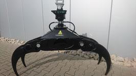 OG 120 1,25 m Reisiggreiferset 4 Fingergreifer