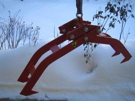 Mechanische Holzzange mit Öffnungsautomatik