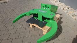 Fällgreifer Energieholzgreifer CTG150 MS03