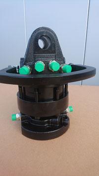 DR6 Tonnen Flansch-Rotator