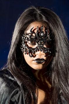 Black Mask with rhinestones