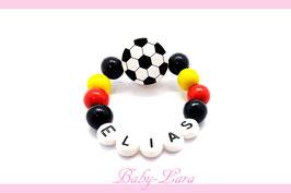Babyarmband mit Namen - Fußball Deutschland 063