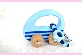 Greifling mit Namen - Greifling Auto blau