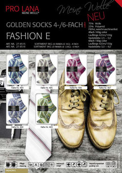 Pro Lana - Golden Socks - Fashion E - 6-fach