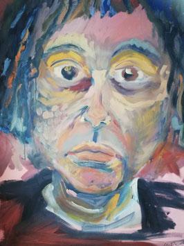 Frau ohne Maske