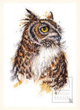 UHU | eagle-owl | A4